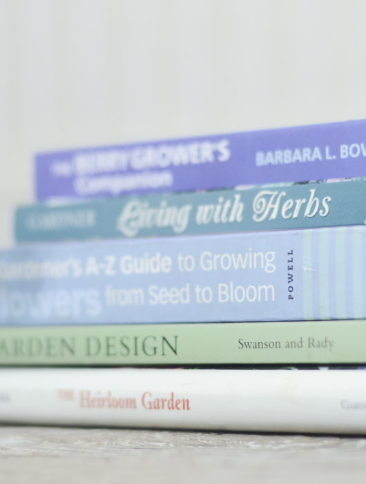 5 indispensable gardening books to help you grow the garden of your dreams, especially for the newbie gardening. You'll find information on plant selections, plant placement, and best of all, the confidence to start. Click through to the blog post for the details on each text!